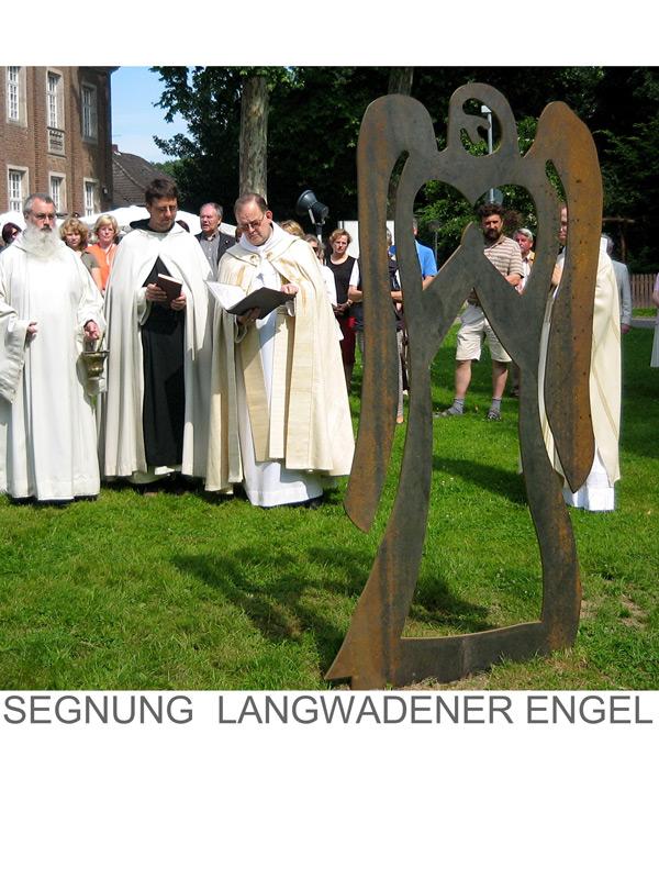 Stahlengel-Kloster-Langwaden