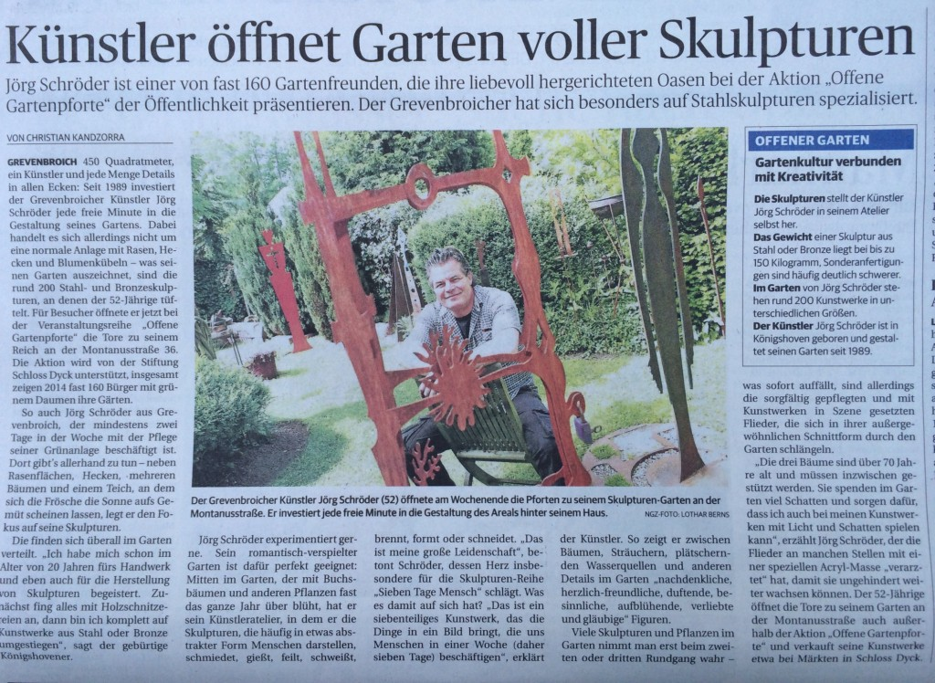 Oeffnung-Skulpturengarten