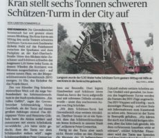 2-Sechs Tonnen-NGZ Turm Aufbau